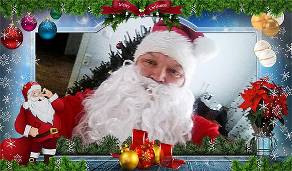 Papá Noel Navidad dinero