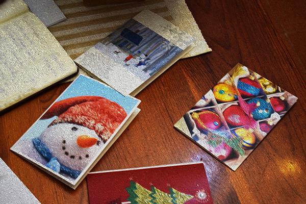 Postal Navidad Finlandia