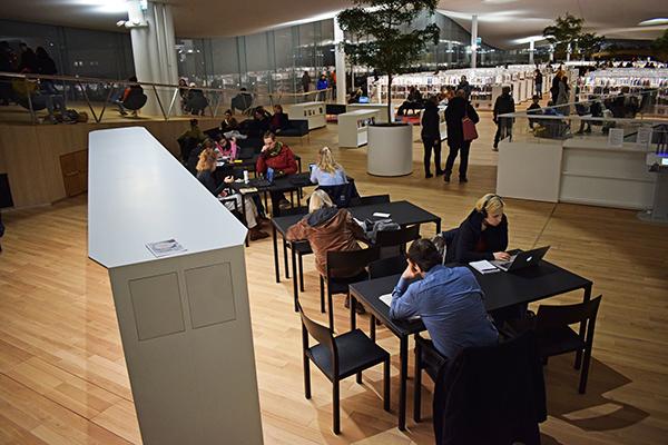 Oodi biblioteca Helsinki