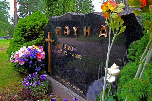 tumba Simo Häyhä