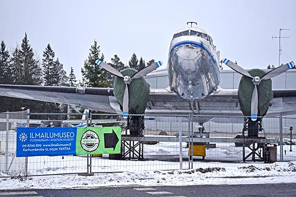 Museo aviación Finlandia Aviapolis