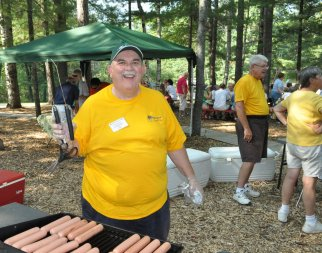 HOt dogs at the Annual Chilli Cookoff