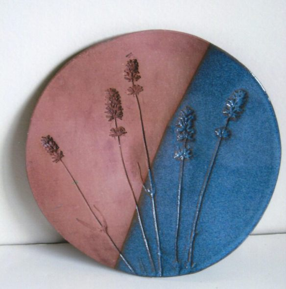 Alice Tompkins – Pressed-flower Pictures, Matted Prints, Pottery