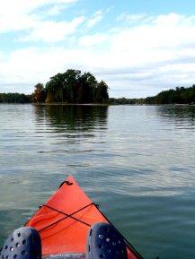 Kayaking on Opal Lake