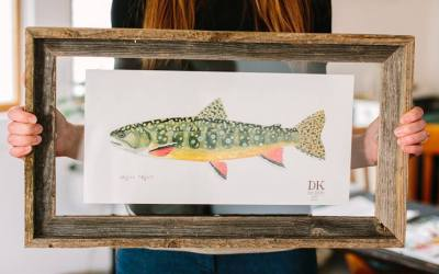 Dani Knoph – Wildlife Water Colors