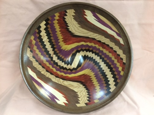 Mike Valuet Segmented Bowl 1