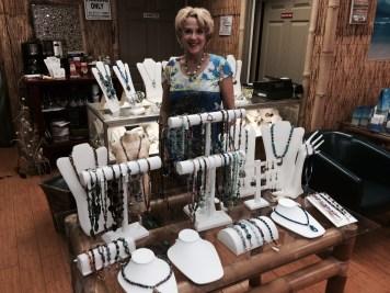 Cheryl Green Display in Island Jewel
