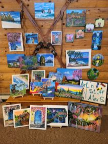 Art'n Stuff by AlexS – Acrylic Paintings on stretched Canvas & Metal Mailboxes