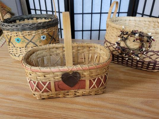 Baskets by Donna – Handwoven Baskets