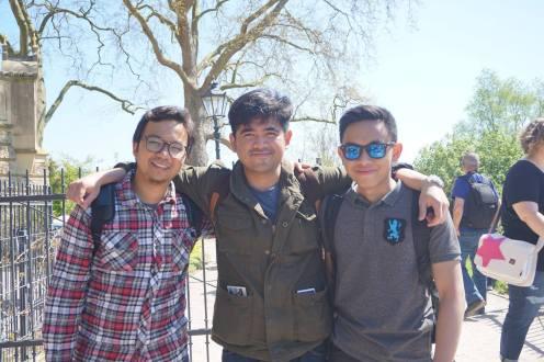 Hoky, Elang, Fariz yang ngurus trip ini