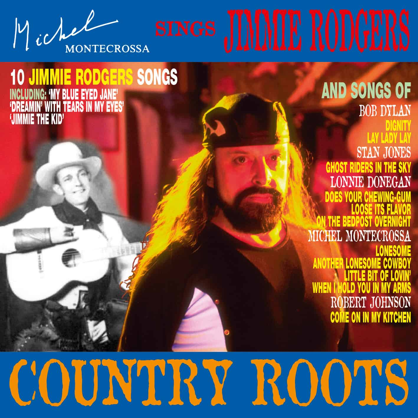 Album: Country Roots – Michel Montecrossa sings Jimmie Rodgers