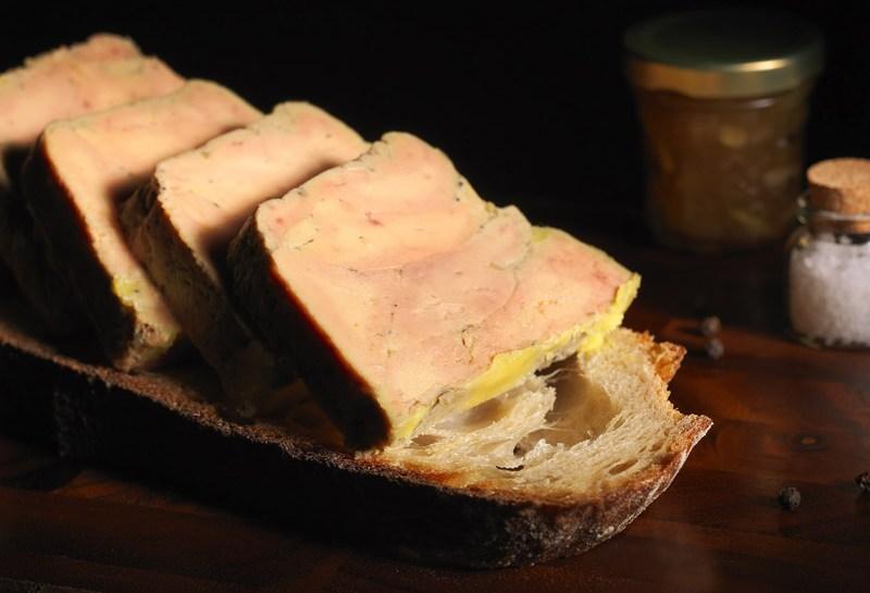 © Michel Kalifa - Maison David, Foie gras mi-cuit nature