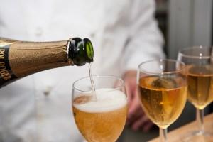 Dégustation de champagne Pol Roger 1983, Michel Kalifa - Maison David, Samuel Bloch ©