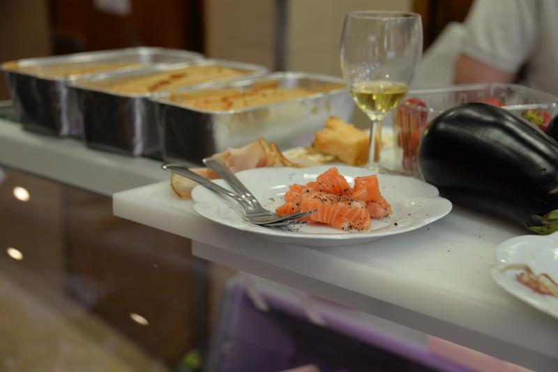 Saumon gravlax et vin blanc, Michel Kalifa-Maison David, Samuel Bloch ©