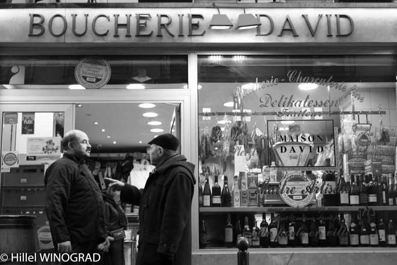 Vitrine extérieure Maison David - Delikatessen Traiteur, Michel Kalifa-Maison David, Hillel Winograd ©