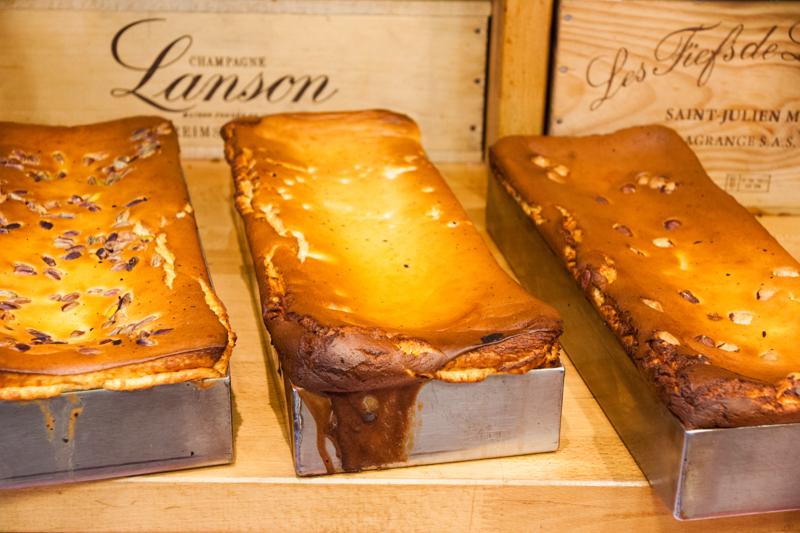 Trio de gâteaux au fromage, aux pistaches, citron et noisettes, Michel Kalifa - Maison David, Nicolas Fabayre ©