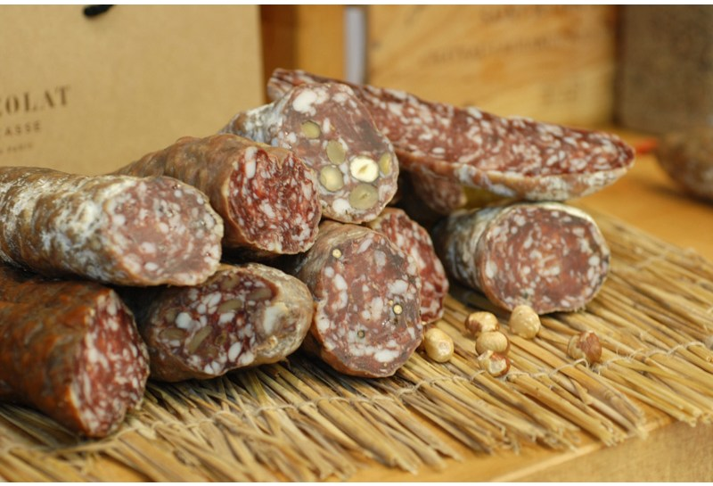 Assortiment de saucissons secs, Michel Kalifa - Maison David, Samuel Bloch ©