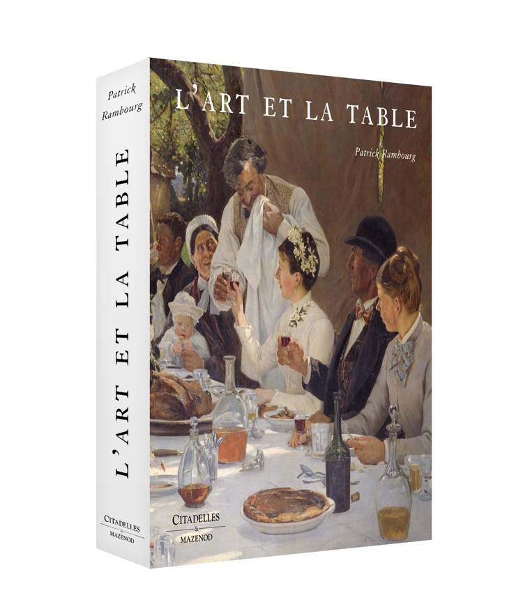 Patrick Rambourg, L'art et la table, Citadelle et Mazenot, Michel Kalifa - Maison David