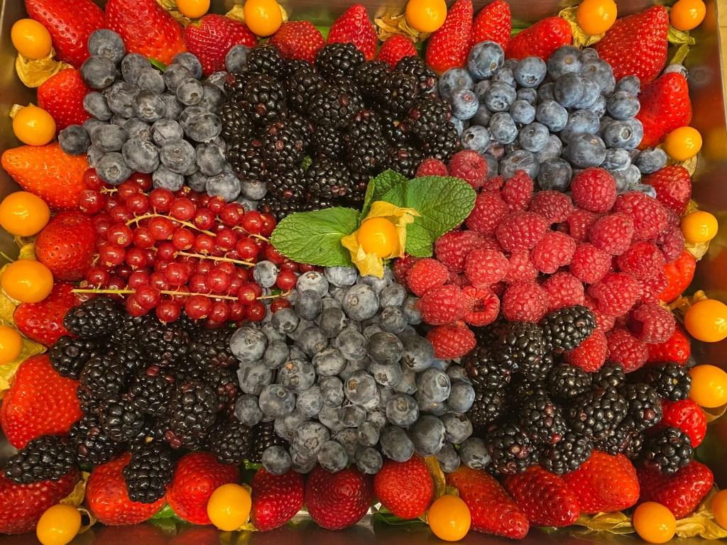 Plateau de fruits, prestations traiteur, Michel Kalifa - Maison David ©