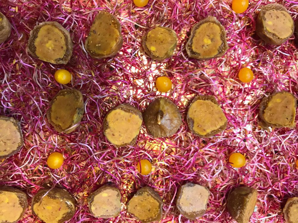 Plateau de figues au foie gras, prestations traiteur, Michel Kalifa - Maison David ©
