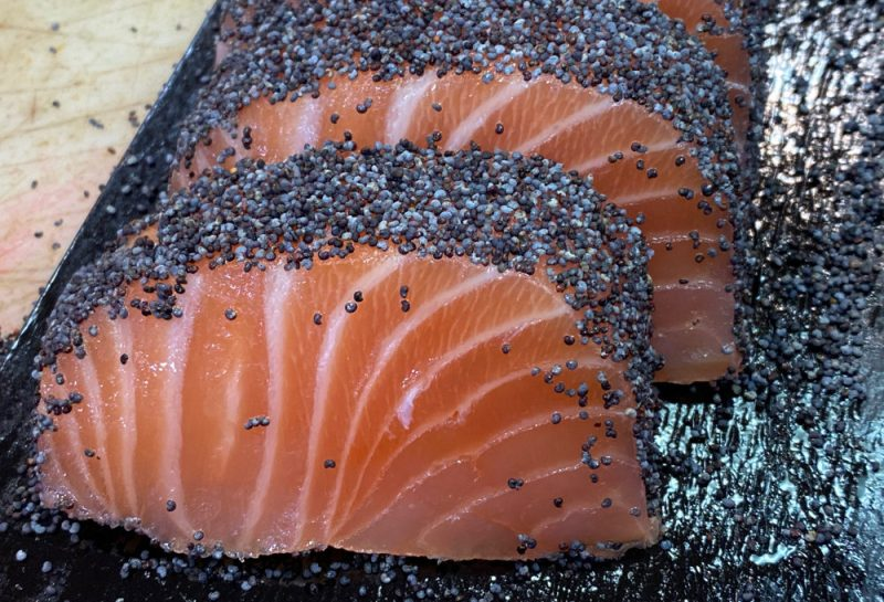 Coeur de saumon, Michel Kalifa-Maison David ©