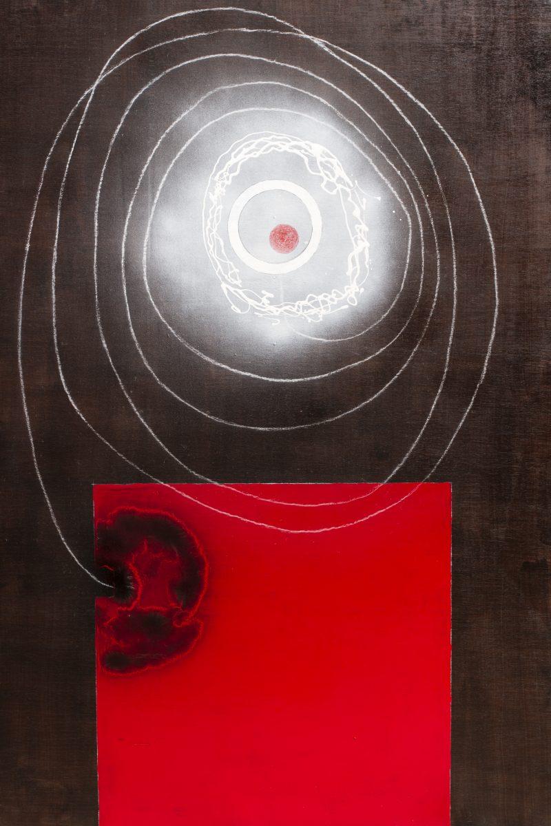 Michel Rossigneux - Météo n°127 - Huile et techniques mixtes sur bois