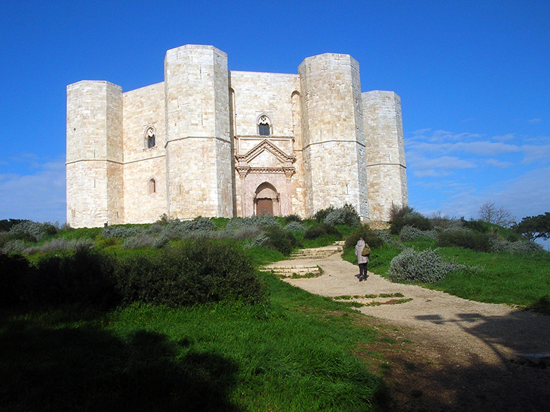Castel del Monte - built by the Holy Roman Emperor Frederick II in the 13th century
