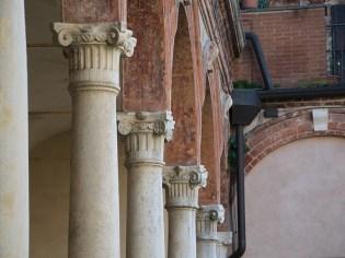 Colonnade pf Palazzo Trecchi in Cremona