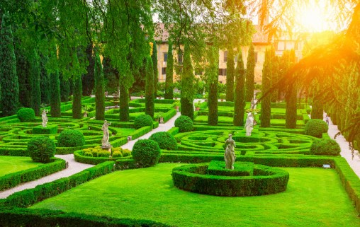 A beautiful Renaissance Garden in the heart of Verona