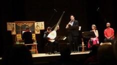 Salle Bourgie, Montréal 2016 Geneviève Soly (orgue) Michel Angers (théorbe) Matthew Jennejohn (cornetto) Nathalie Michaud (flûtes) Ziya Tabassian (percussions)