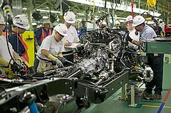 Toyota Tundra powertrain assembly in San Antonio, TX