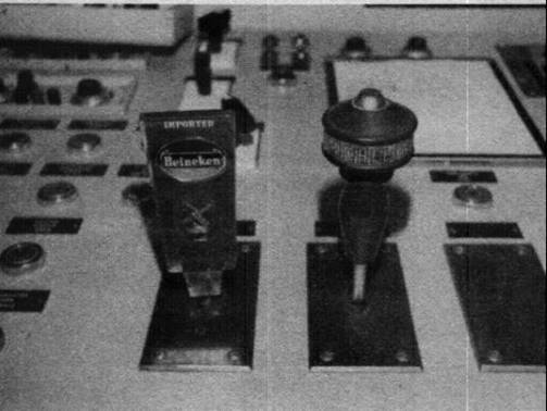Don Norman's example of beer handles to tell controls apart in nuclear power plant