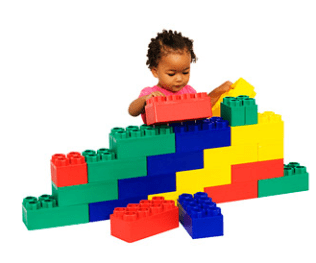 Building blocks available at WalMart