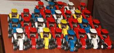 Legotractor output
