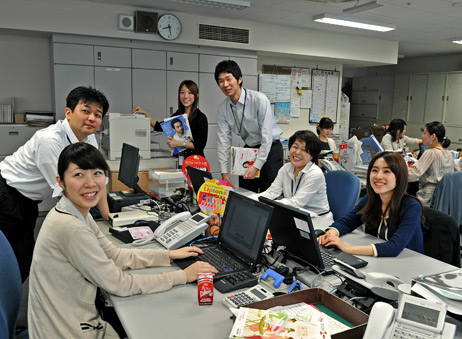 A traditional Japanese office