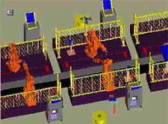 Software simulation of robotic welding