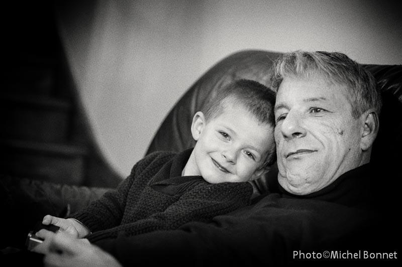 Alexis et son papa