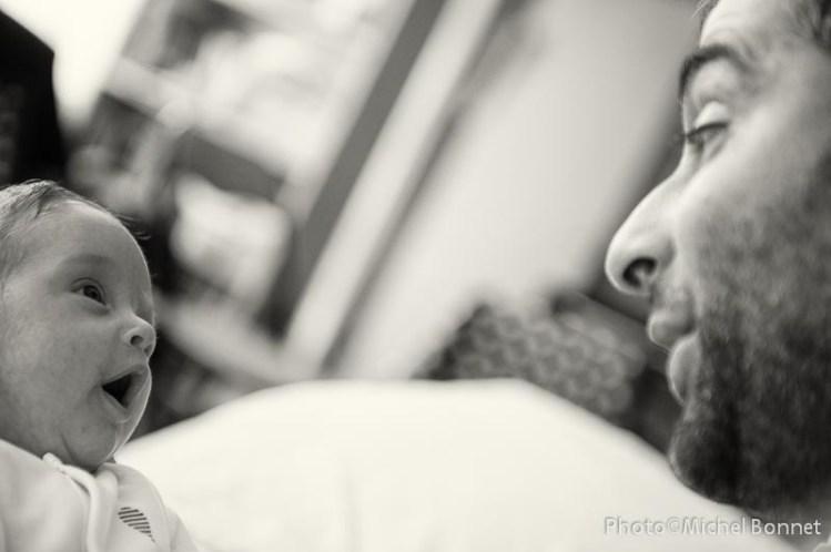 Gaspard et son papa