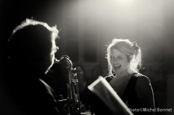 Emilie Hedou avec Soul Serenade