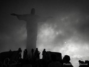 Corcovado dans la brume