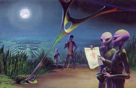 Pourrai-il s'agir d'une civilisation extraterrestre?