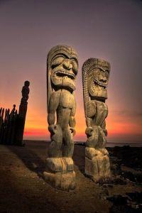 The 4 Great Gods Tiki
