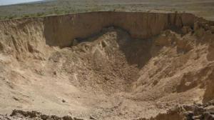 Le sinkhole est apparu le 3 aout 2013