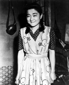 Tokyo Rose,une belle jeune femme alors.