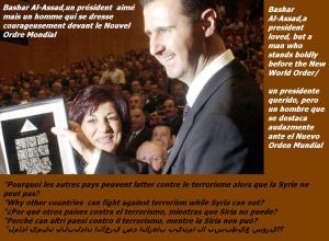 Assad acclamé bbb
