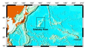 Localisation du volcan