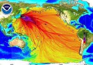 Depuis le 11 mars 2011,plus de 300 tonnes métriques d'eau radioactive s'écoulent dans l'océan Pacifique.