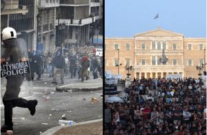 grèce-émeute