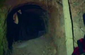 Aperçu du tunnel à l'entrée!
