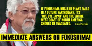 Le message de David Suzuki est très clair.